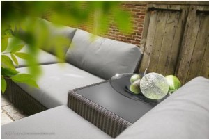 4 Seasons Outdoor Aspen living set polyloom titanium
