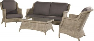 4 seasons outdoor Del Mar living set pure
