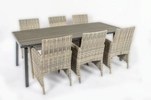 4 Seasons Outdoor mambo dining met venice tafel