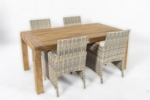 4 seasons outdoor mambo met life outdoor corona teak tafel