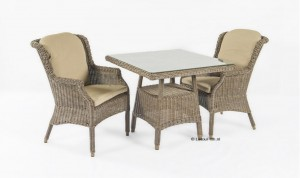 4 Seasons outdoor del mar dining chair met devon tafel