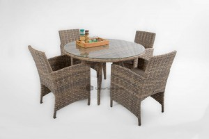 4 seasons outdoor mambo dining set rond