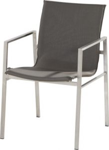 4 Seasons outdoor stackable chair taupe