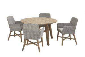 4 Seasons Outdoor Lisboa stoel met derby tafel