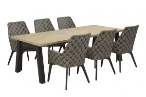 4 Seasons Outdoor Savoy dining set met derby dining table