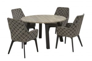 4 Seasons Outdoor Savoy dining set