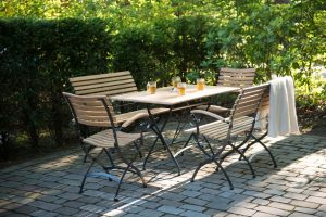 Bellini 4 Seasons Outdoor Bellini stoel met Lindau tafel
