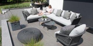 4 Seasons Outdoor Belize eckbank Lounge Set