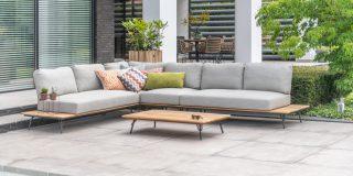 4 Seasons Outdoor Cucina platform Lounge Set