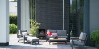 4 Seasons Outdoor Capitol Lounge Set