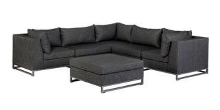 Exotan Rhodos loungeset black