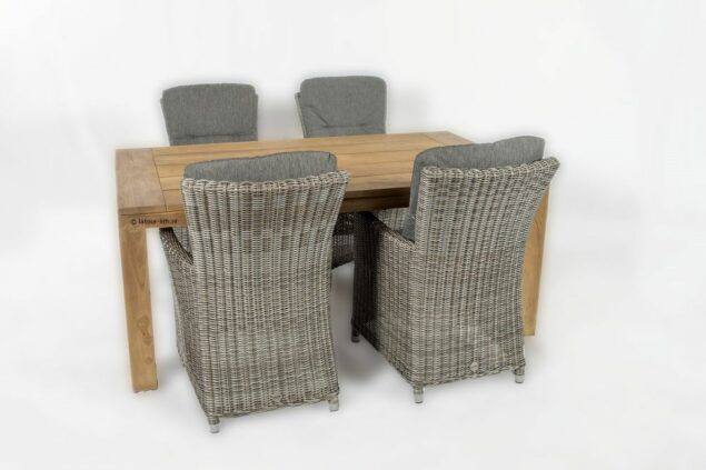taste by 4 seasons ancona dining chair met life outdoor living teak tafel