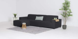 Flow. Cube chaise sooty