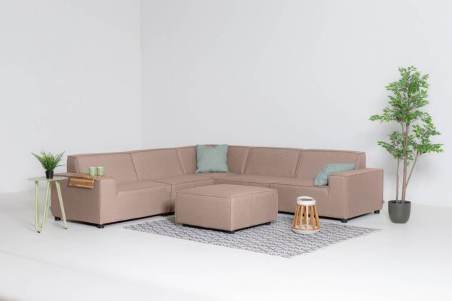 Flow cube taupe chine