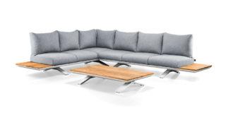 Suns Stockholm loungeset blended grey Southend matt white